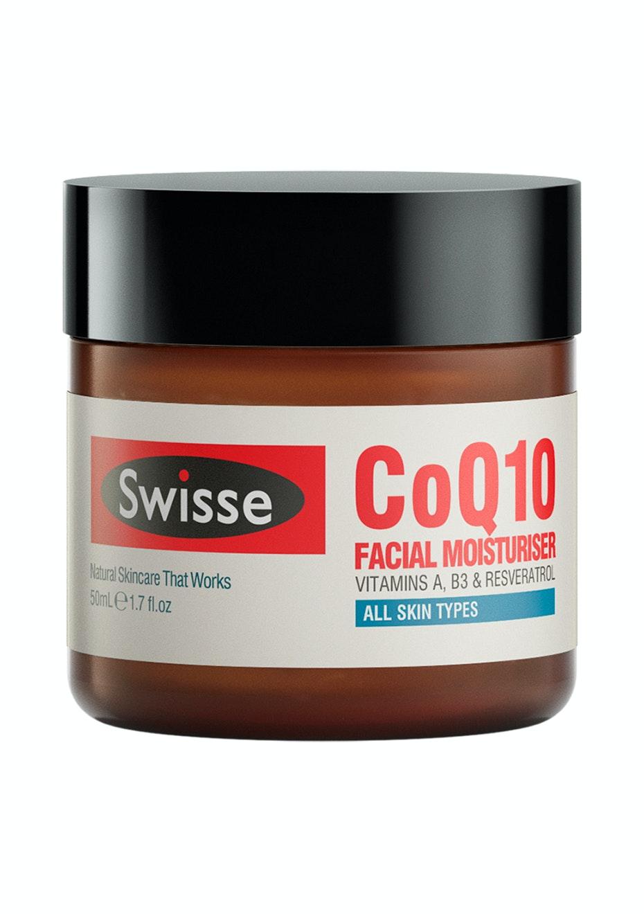 Swisse Co Q10 Anti-Ageing Facial Moisturiser 50Ml (Was Hydrate)