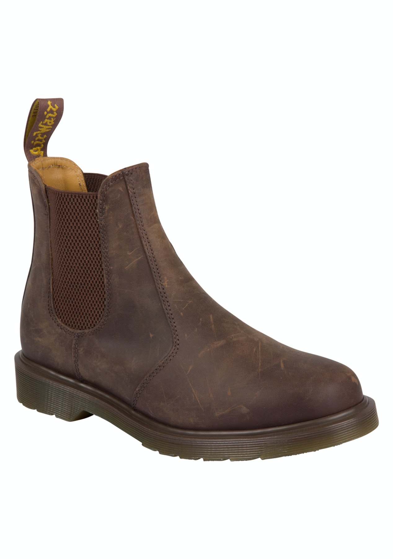 4d72ac5b96a Dr Martens - 2976 Chelsea Boot - Gaucho Crazyhorse Leather - Shoe Sell Out  - Onceit