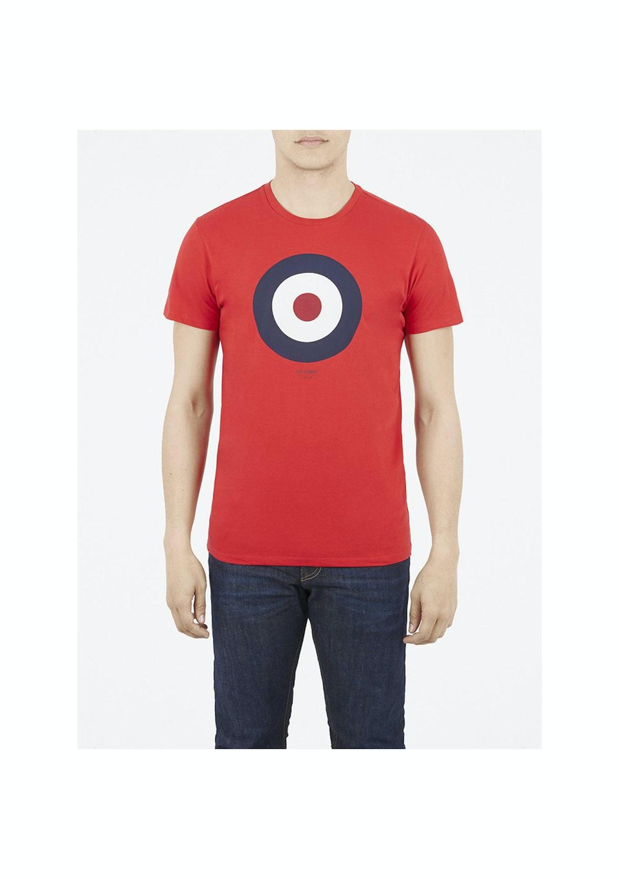 f80f57ac6 Ben Sherman - Target Tee - Red - Ben Sherman - Onceit