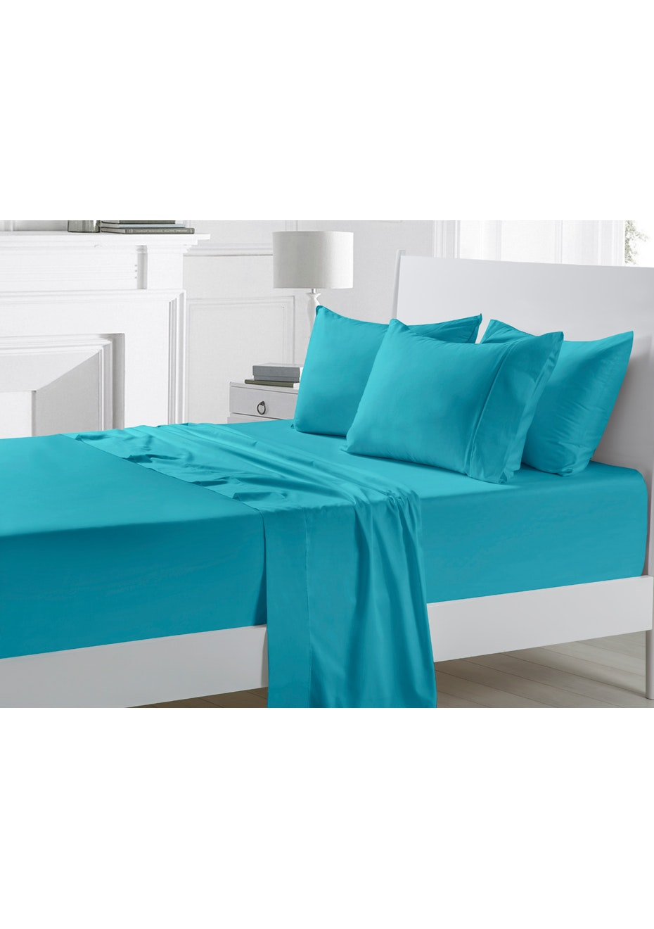 Breeze 300TC Cotton Sateen Sheet Set - King Bed
