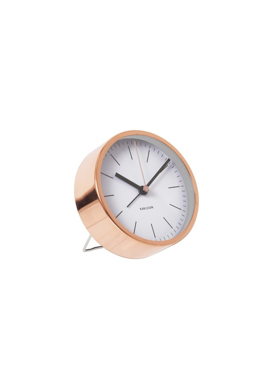 Karlsson - Alarm Clock 'Minimal' - White