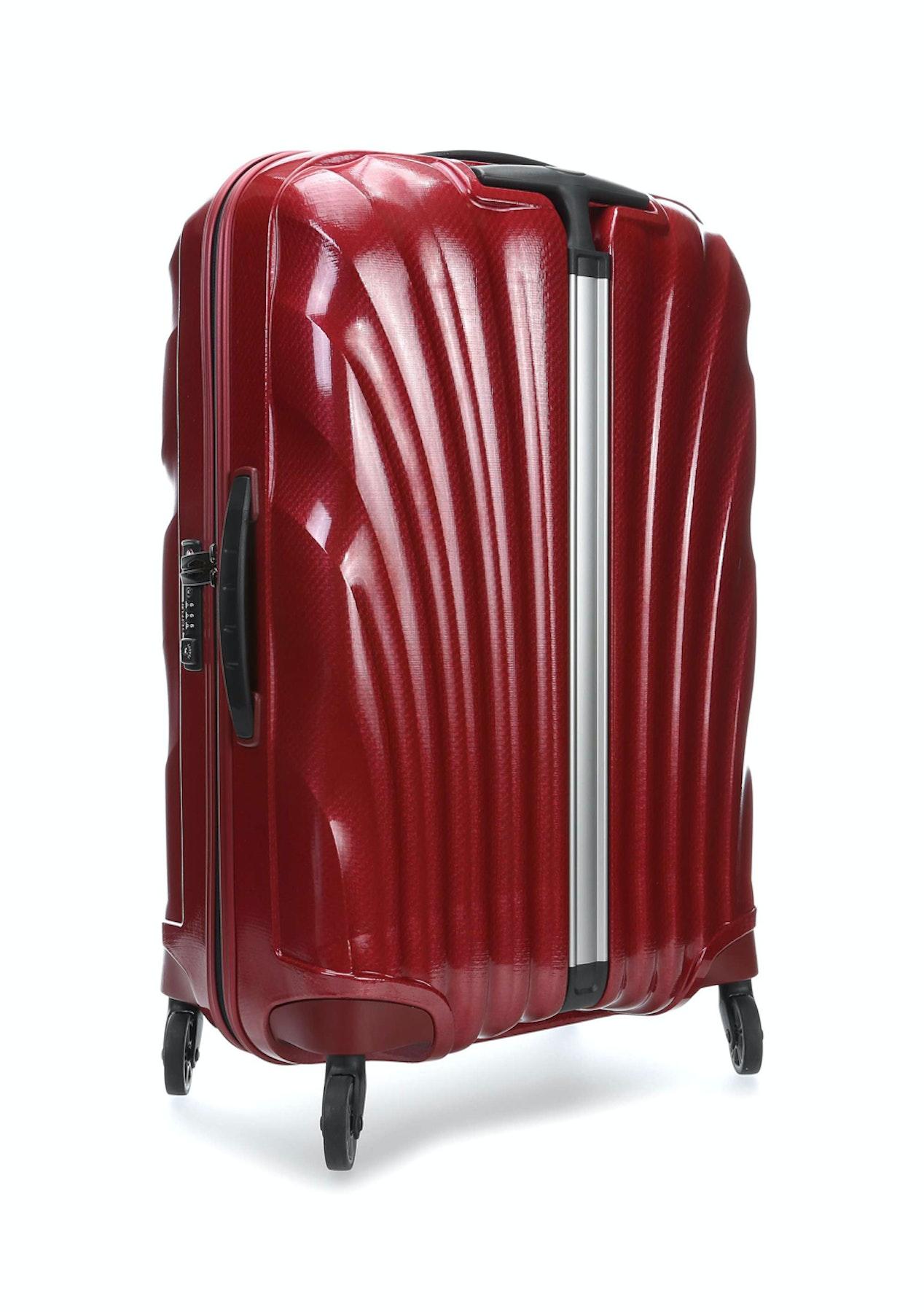 ungeschlagen x Angebot ankommen Samsonite Cosmolite 3.0 75cm 4 Wheeled Spinner - Red