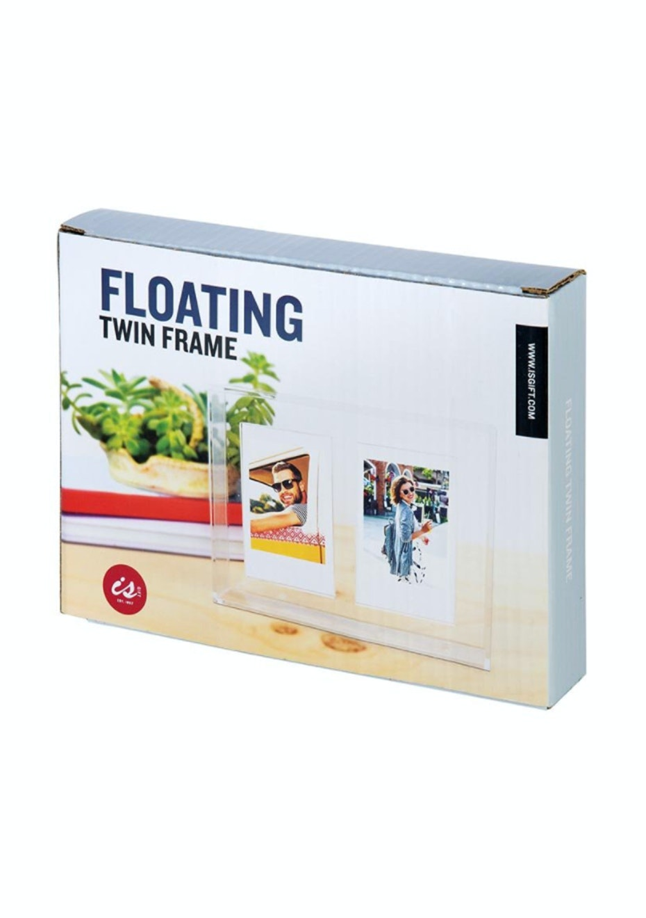 Floating Photos - Twin Frame