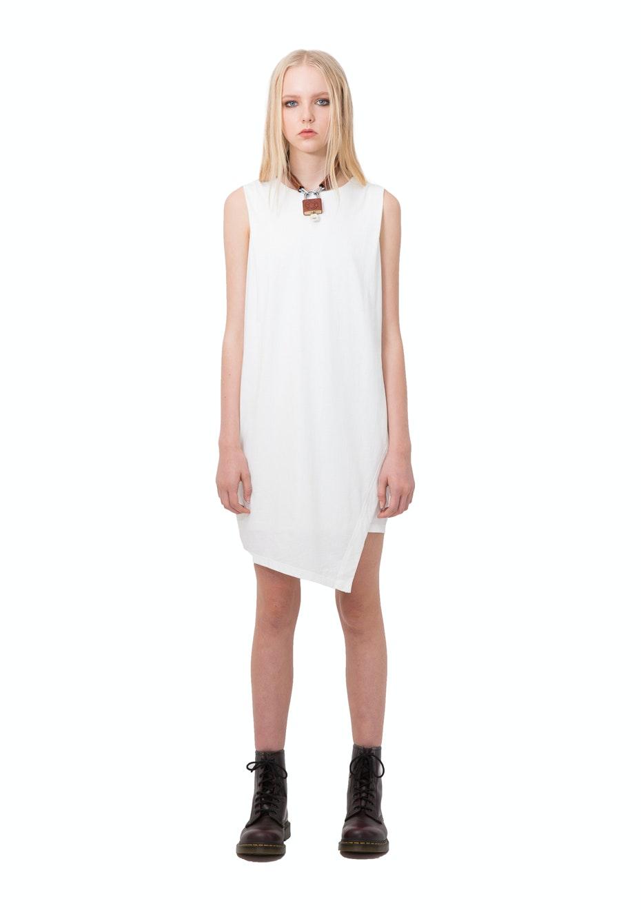 Stolen Girlfriends Club - Circuit Breaker Dress White - White