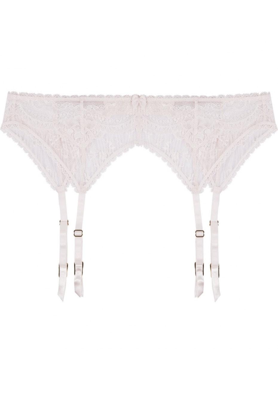 Stella McCartney - Kate Kissing Suspender Belt - Floral White