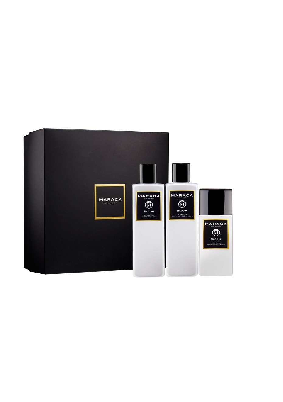 Maraca - Bloom Coffret Set (Body Wash 250ml + Body Lotion 250ml + Hand Cream 100ml)