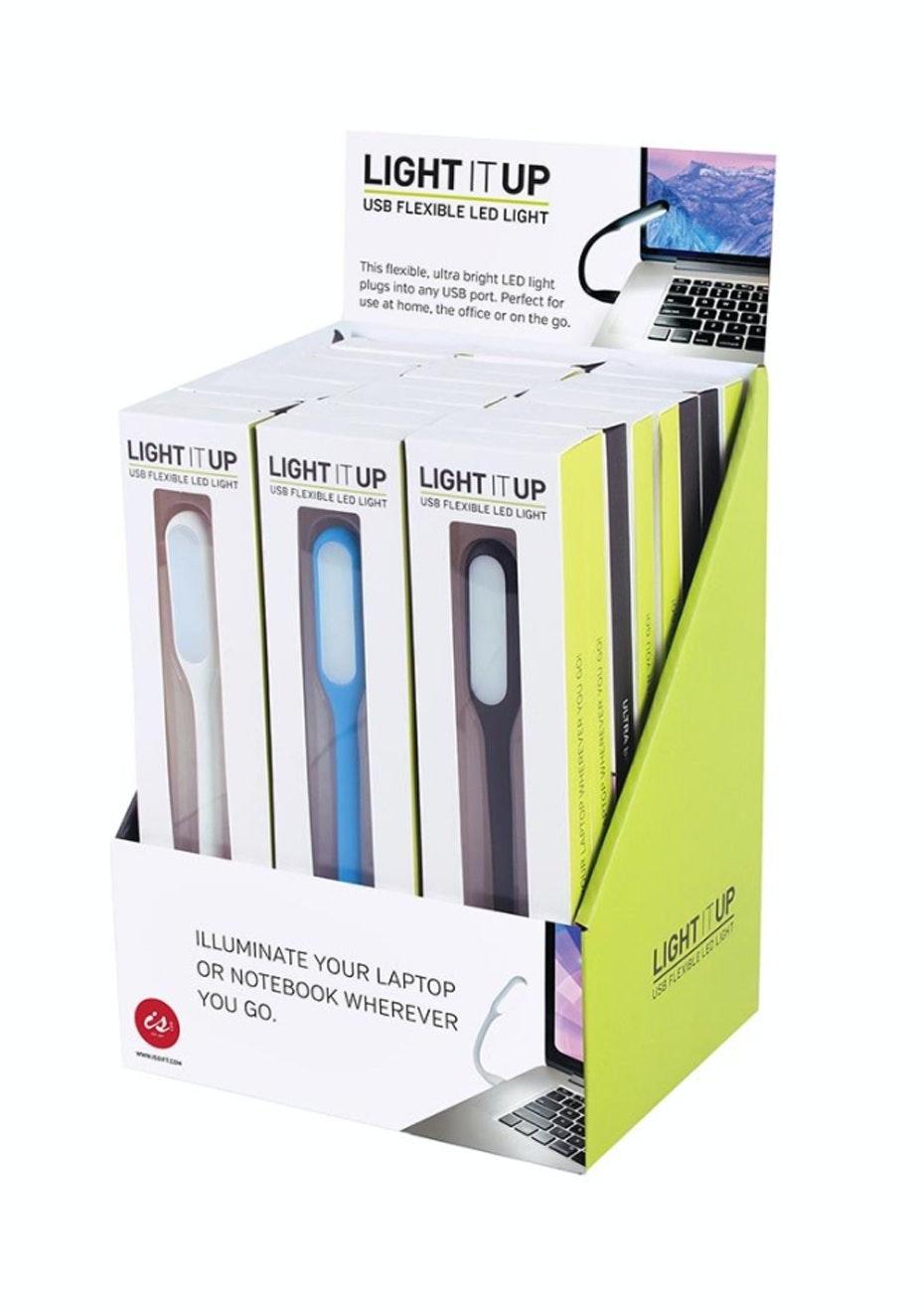 Light It Up - USB Flexible LED Light - White