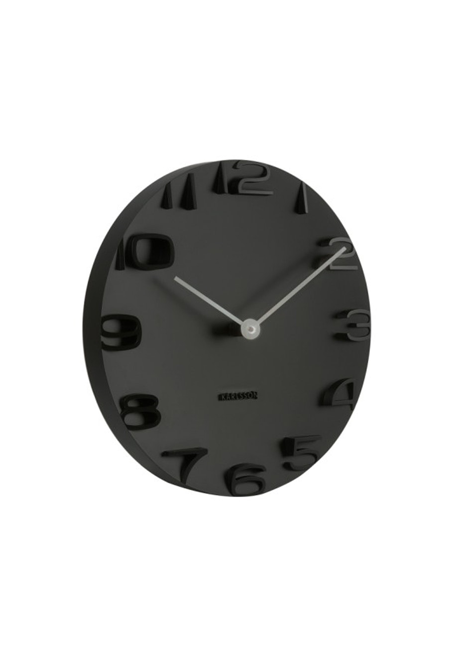 Karlsson - Wall Clock 'On The Edge' - Black
