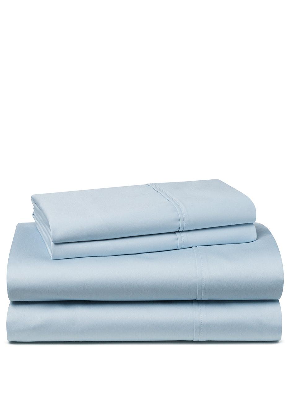 Palazzo Royale 1500TC Premium Blend Sheet Set Queen Bed Cloud Blue