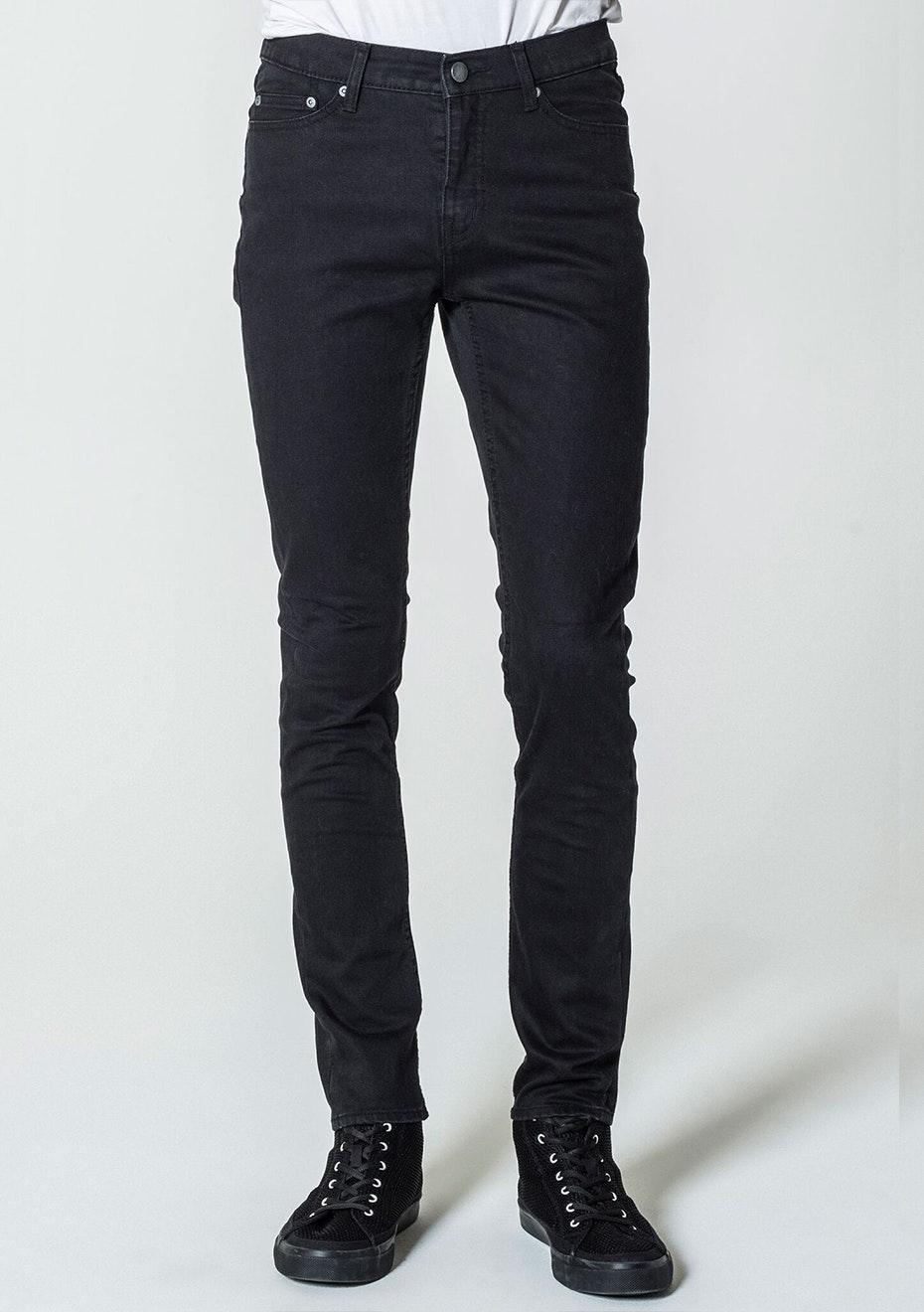 Cheap Monday - Mens - Sonic - Rinse Black 34 Leg