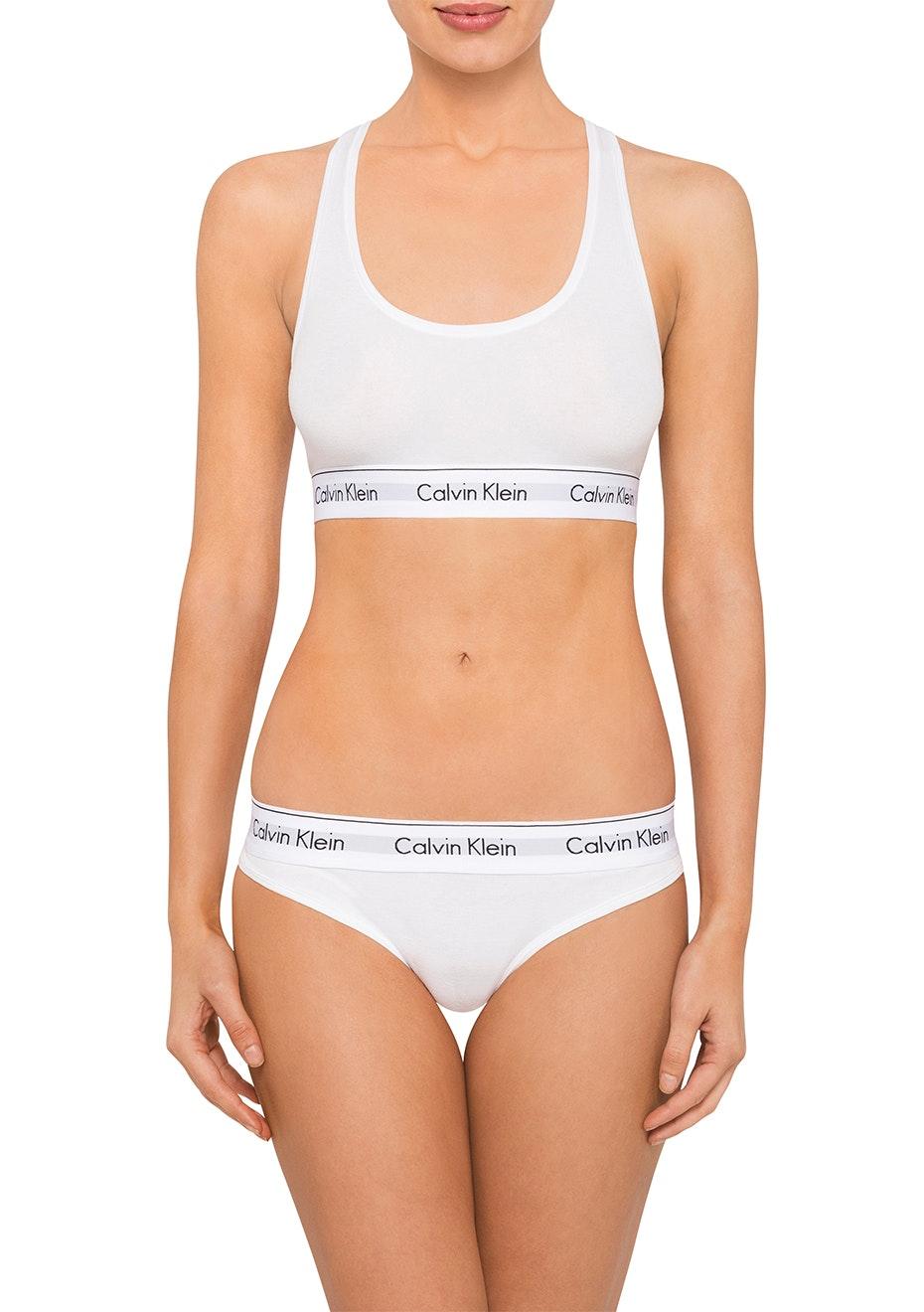Calvin Klein  - Modern Cotton Bikini - White