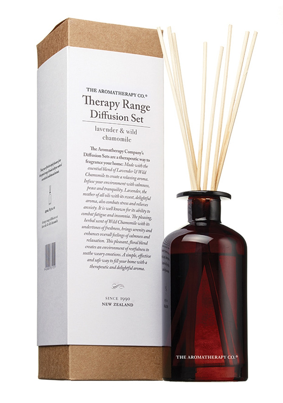 The Aromatherapy Co.  Therapy Diffusion set - Lavender, Manuka & Wild Chamomile - 250ml