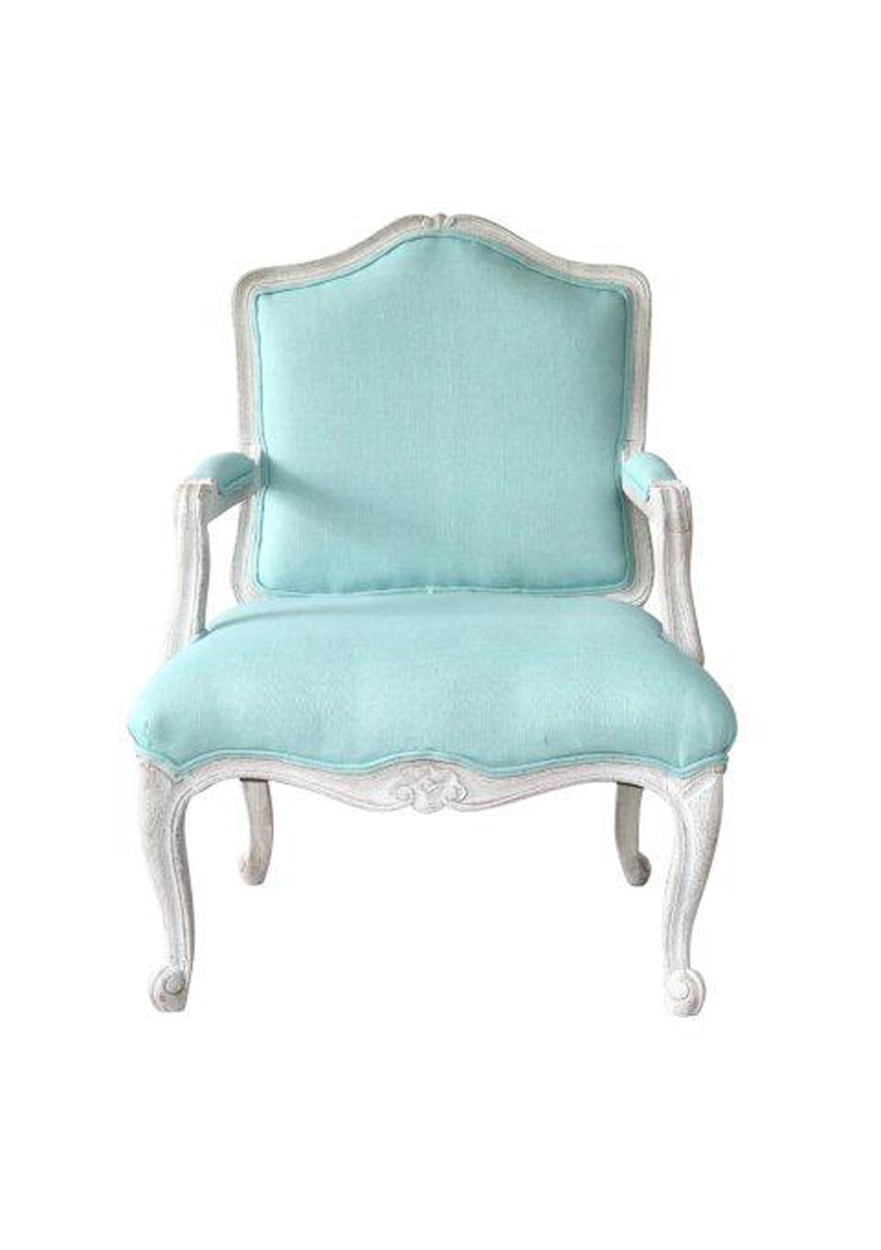Velvet Arm Chair Turquoise The French Apartment ceit