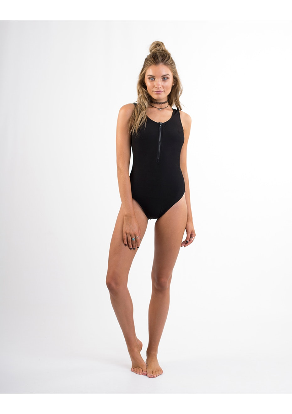 All About Eve - Senna One Piece - Black