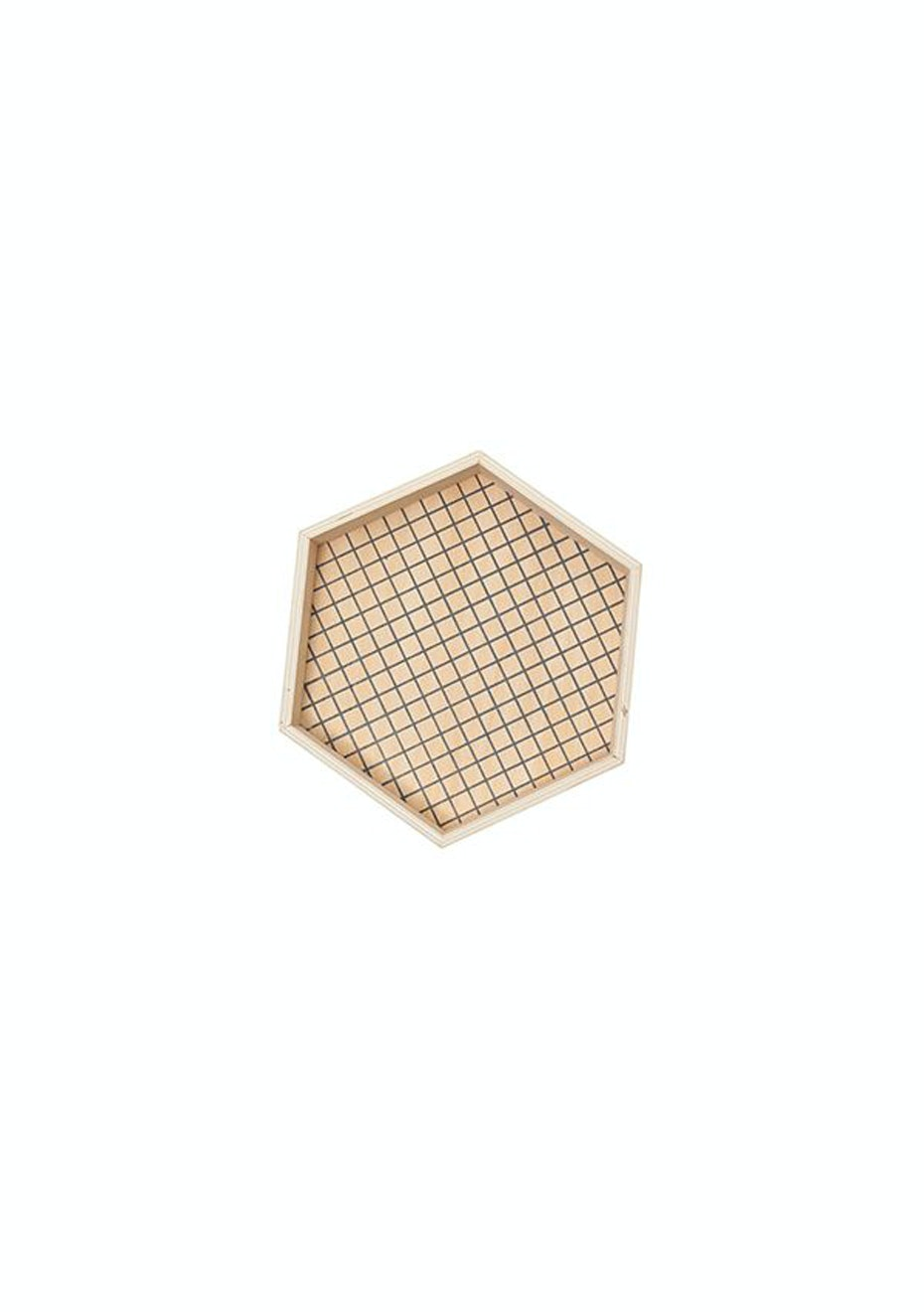 General Eclectic - Hex Wooden Tray - Medium