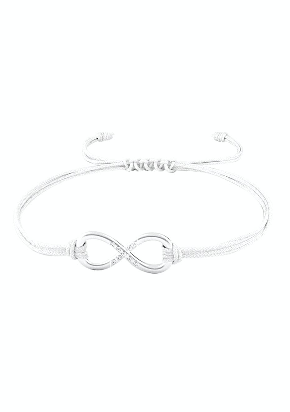 Infinite Bracelet Ft Swarovski Elements -WHT