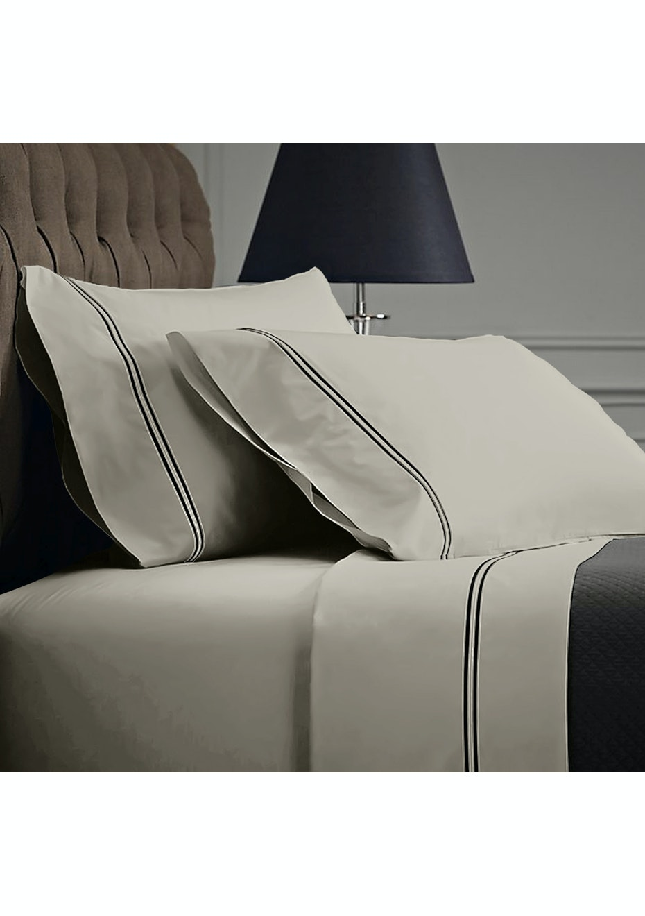 Style & Co 1000 Thread count Egyptian Cotton Hotel Collection Sorrento Sheet sets Double Silver