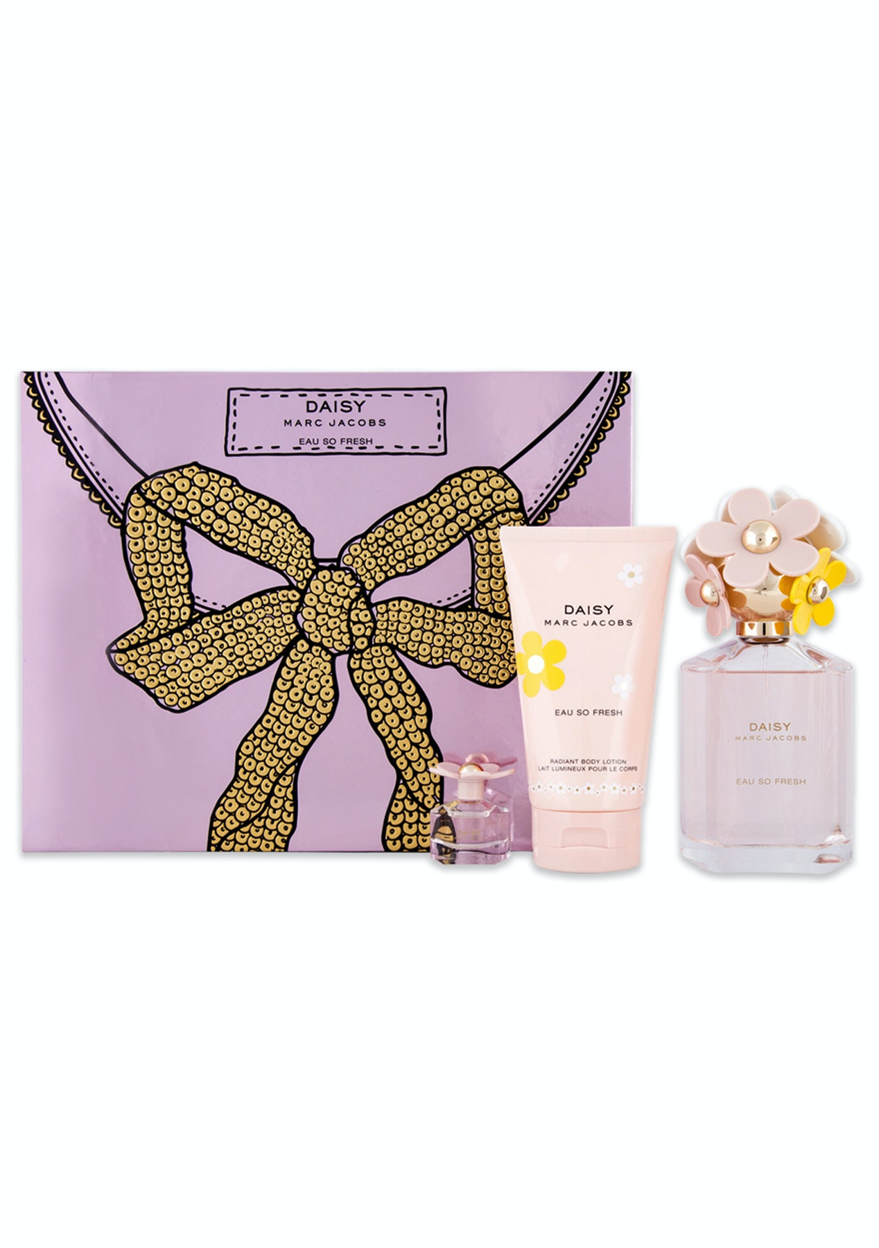 76ab9e1ab39c Marc Jacobs Daisy Eau So Fresh 3 Piece Set - Luxe Gifts for Her - Onceit