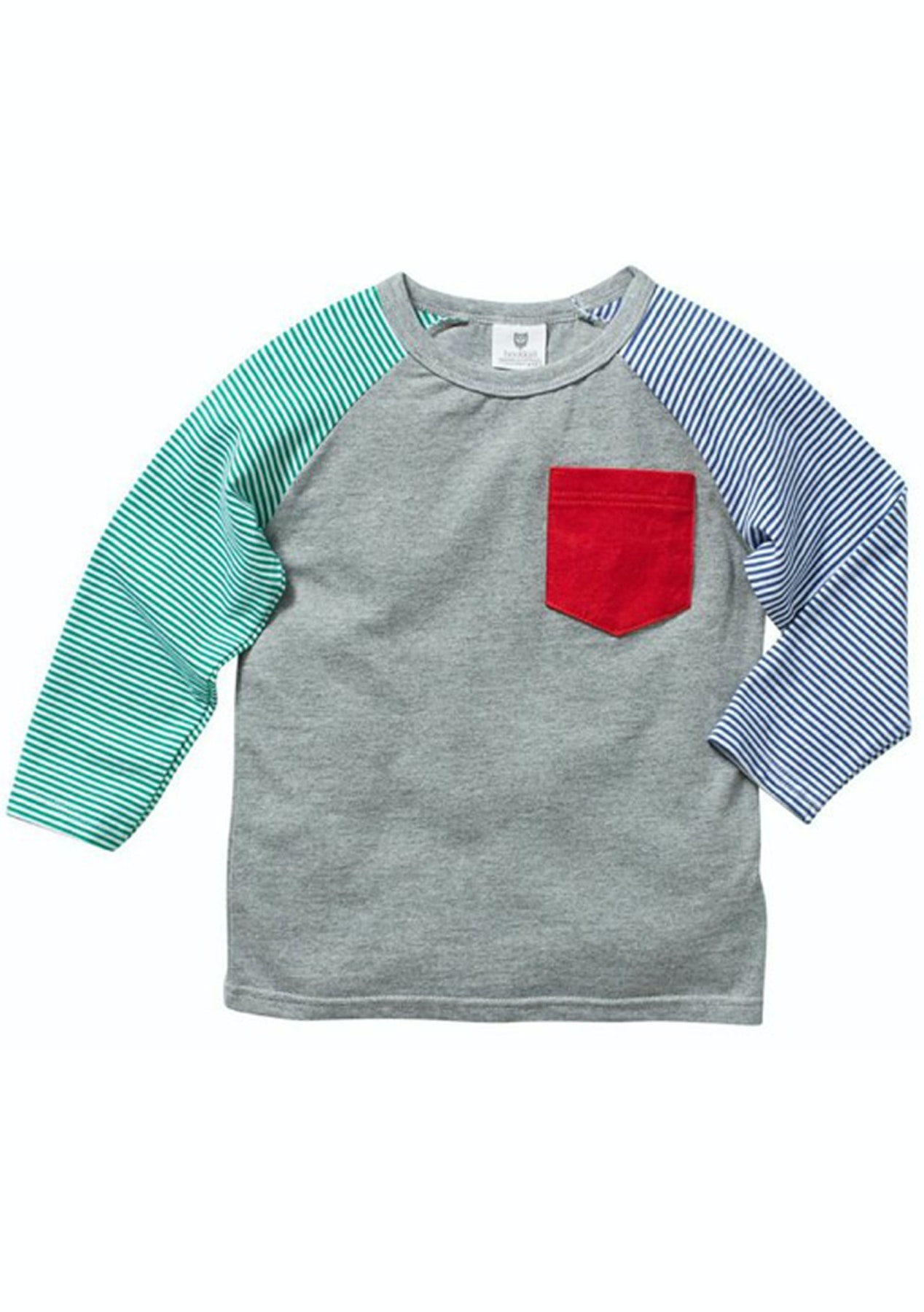 934d4b381f3 Hootkid - In The Pocket Tee - Grey Marle - Kids Fashion Outlet   More -  Onceit