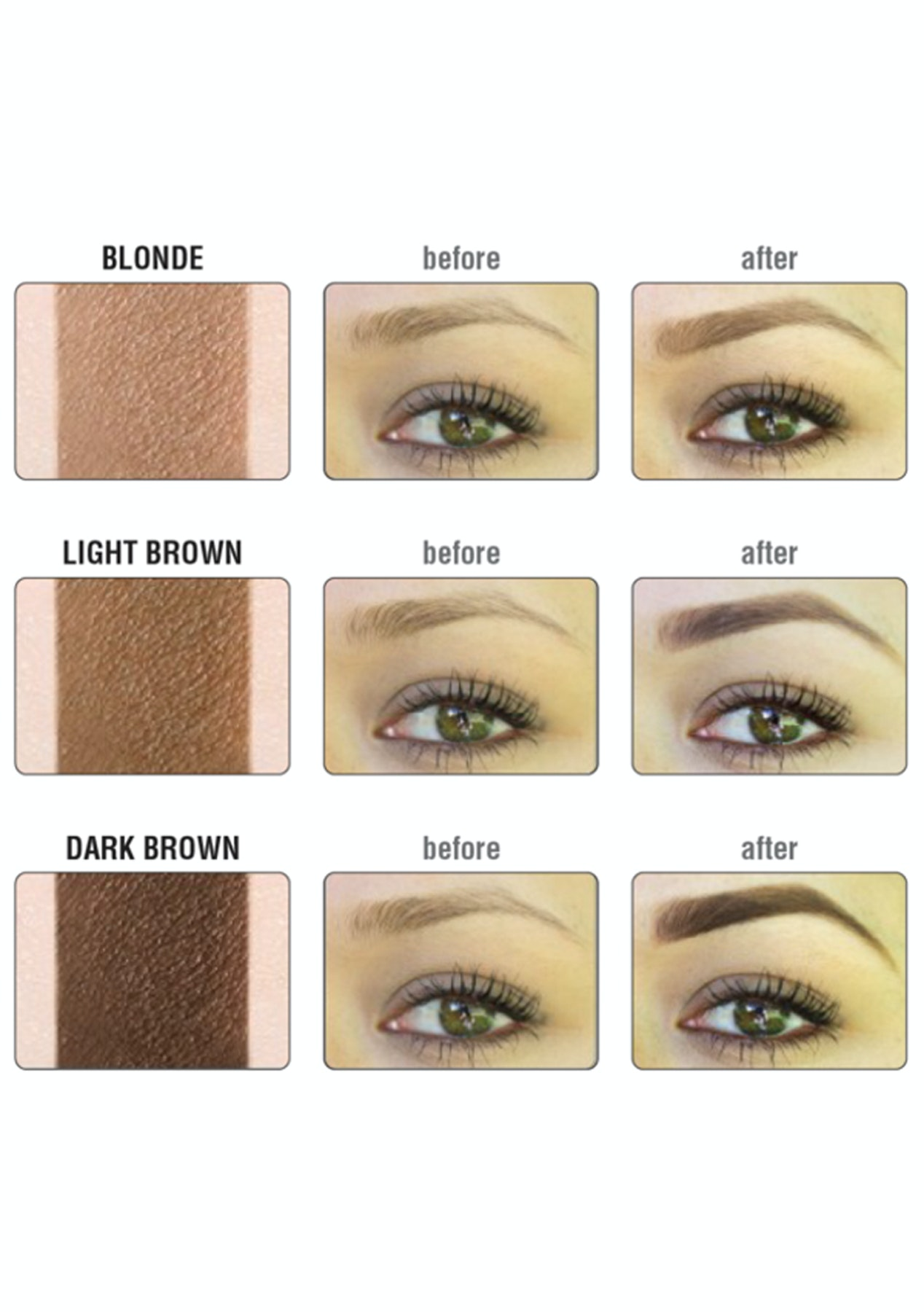 The Balm Brow Pow Eyebrow Powder Blonde The Balm More Onceit