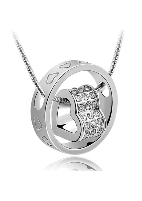 Love Infinite Pendant Necklace Embellished with Crystals from Swarovski