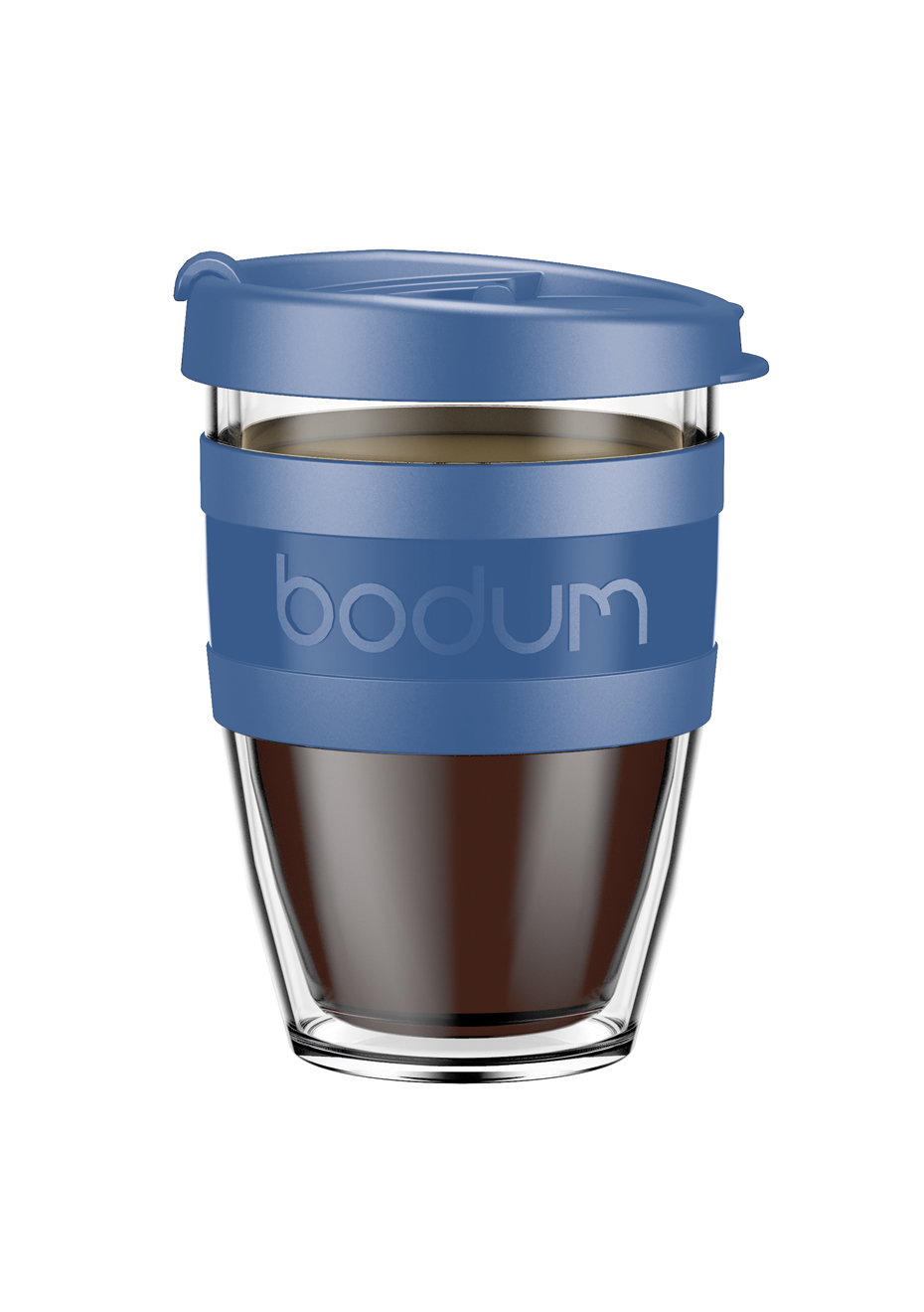 Travel Joycup Wall Bodum Mug 300ml Double Denim iuZPkXO