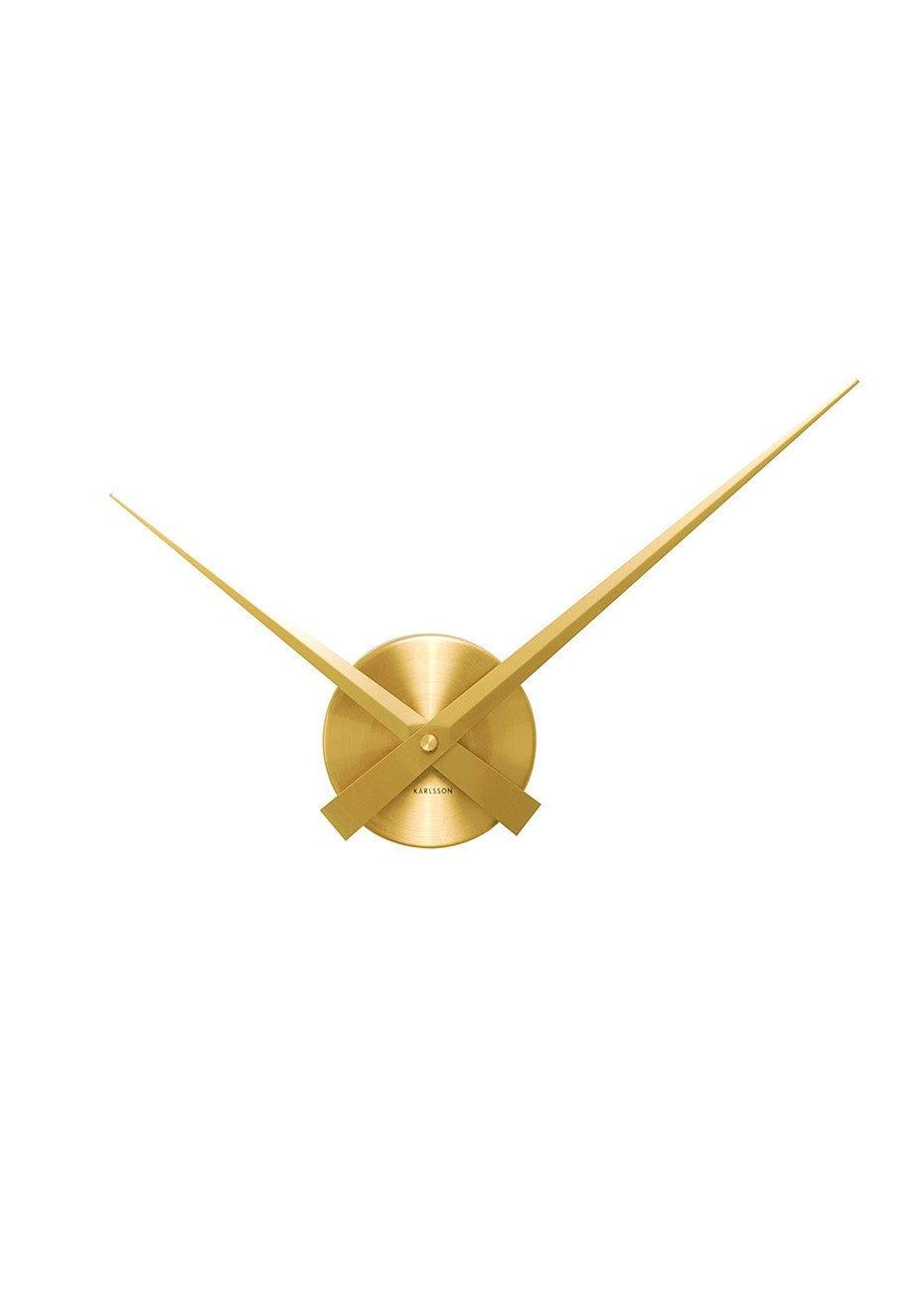 Karlsson - Wall Clock 'Little Big Time' Mini - Gold