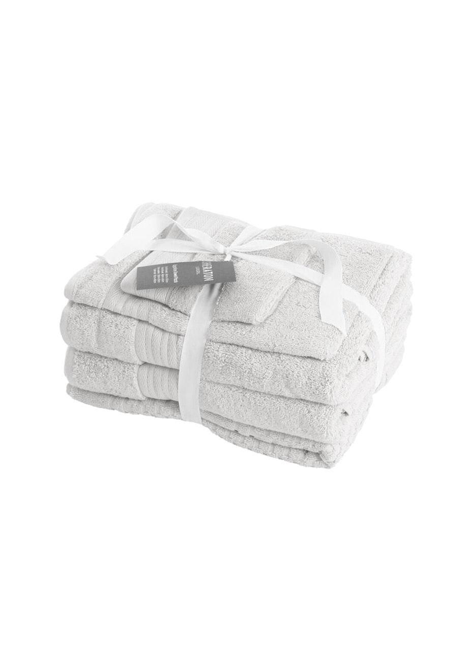 Sheraton Egptian 5 Piece Towel Pack - Colour Powder Blue