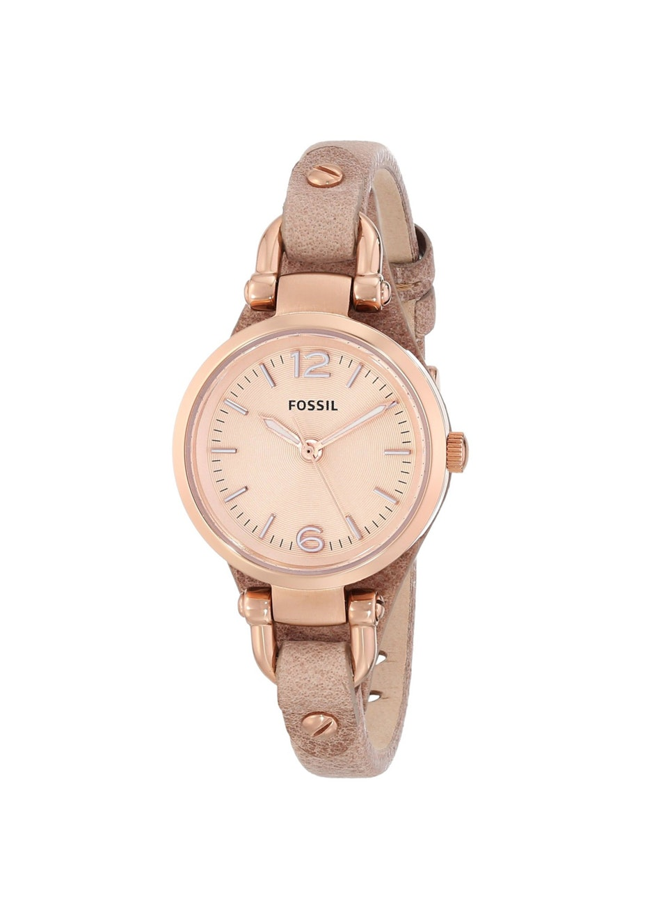Fossil Women's Georgia Mini - Rose Gold/Light Brown