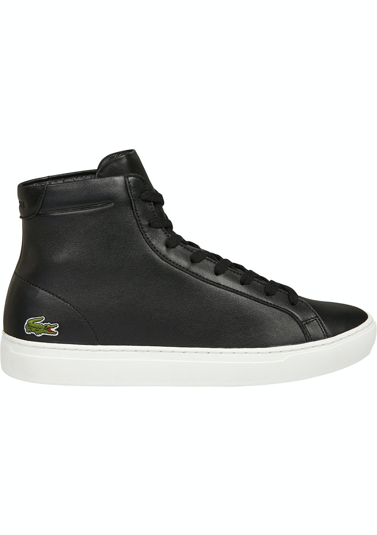 b732609f538e Mens Lacoste - L.12.12 Mid 316 1 - Black - Mens Shoe Sale - Onceit