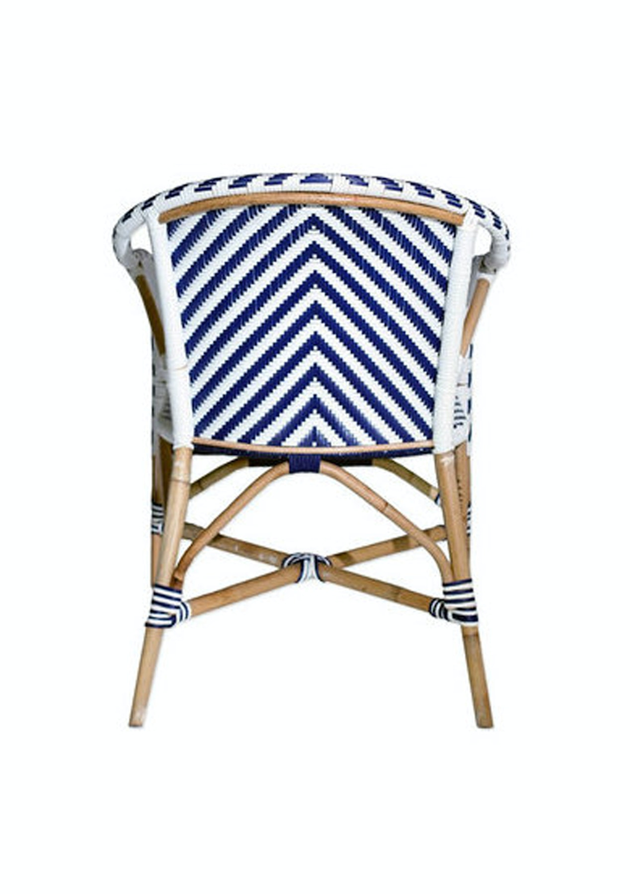 Williams Road - Singapore Chair with Arms - Chevron