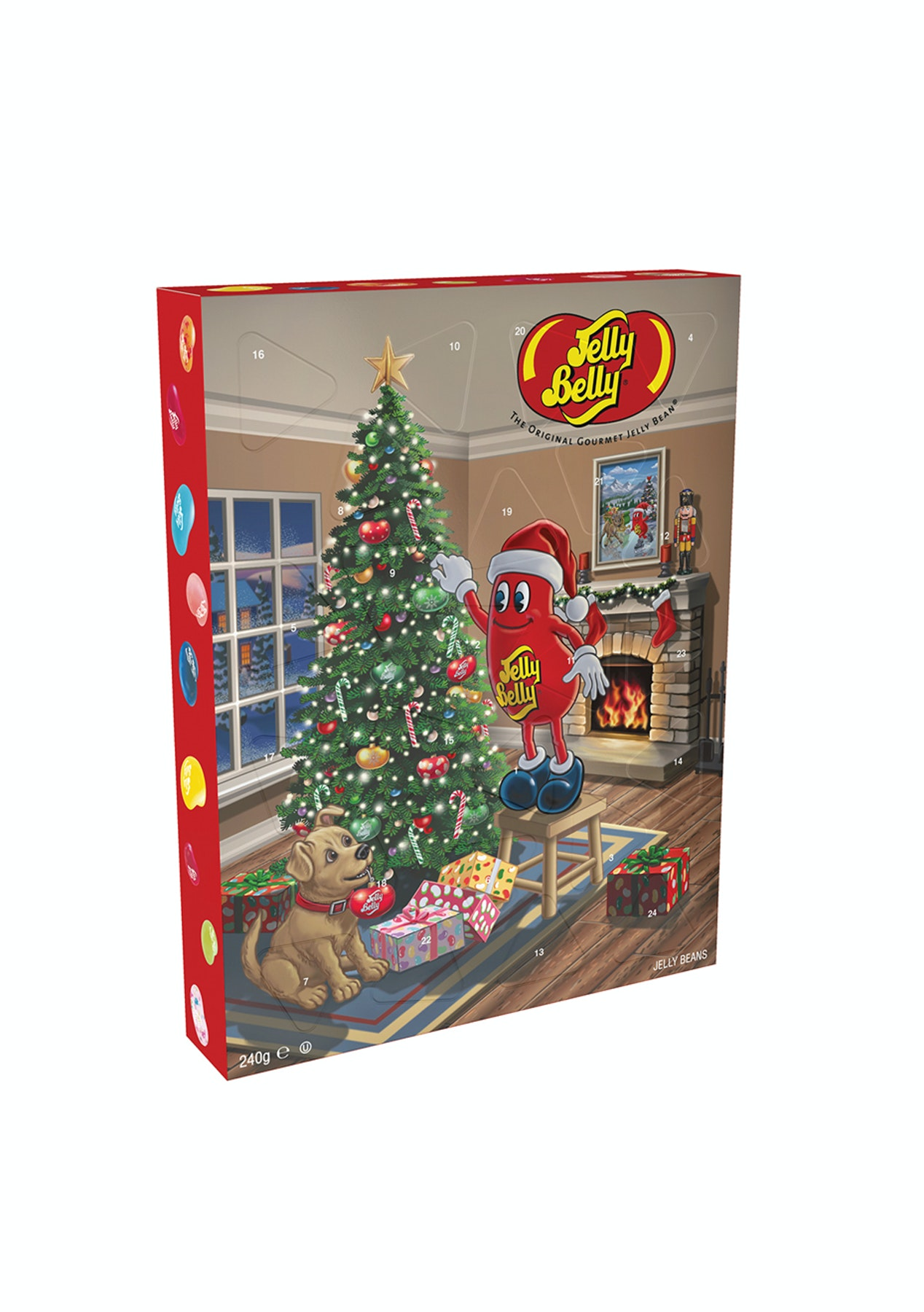 9901a341c3d Jelly Belly Advent Calendar 240g - Kids Fashion Outlet   More - Onceit