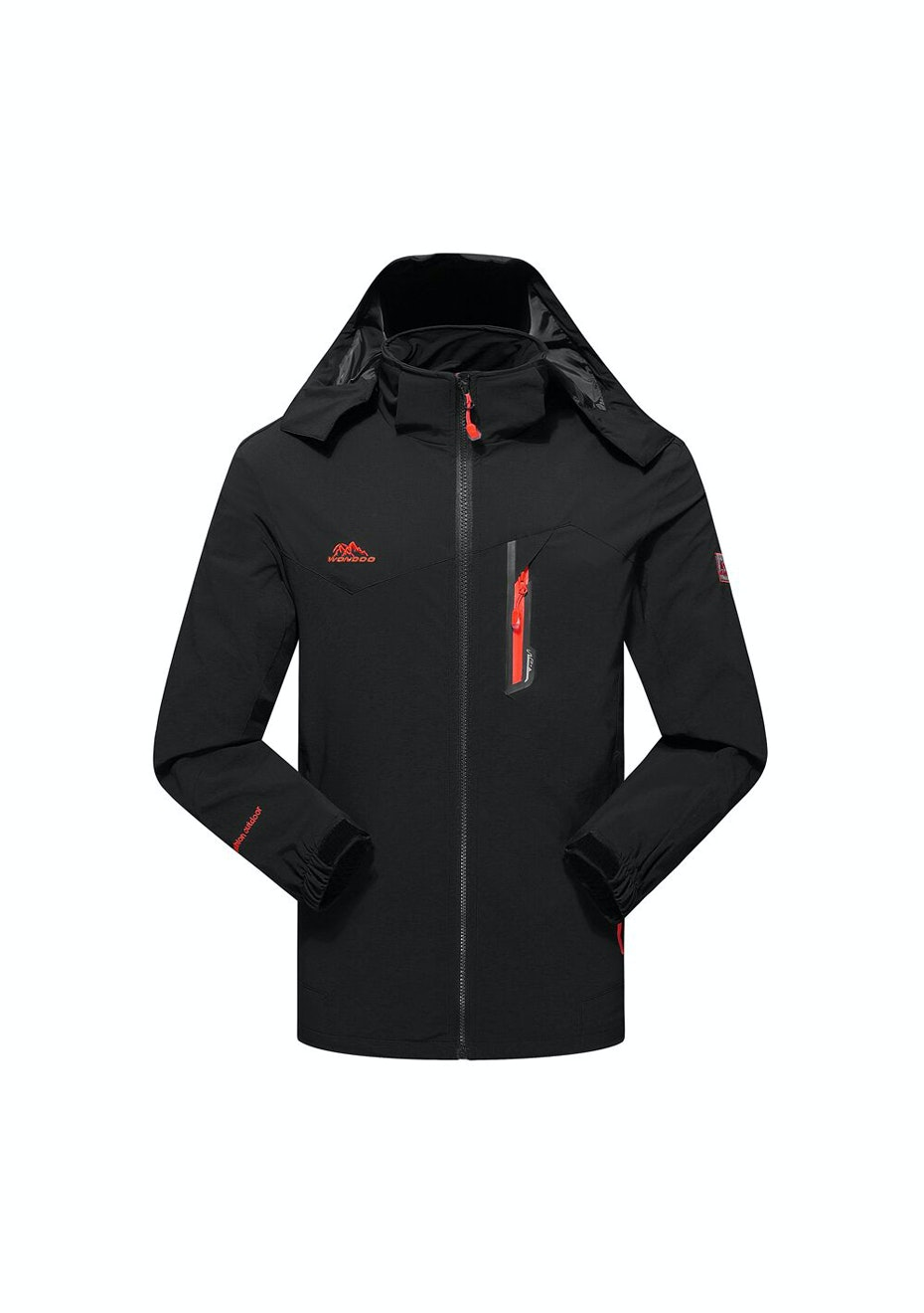 Men 2-in-1 WaterProof Jackets - Black