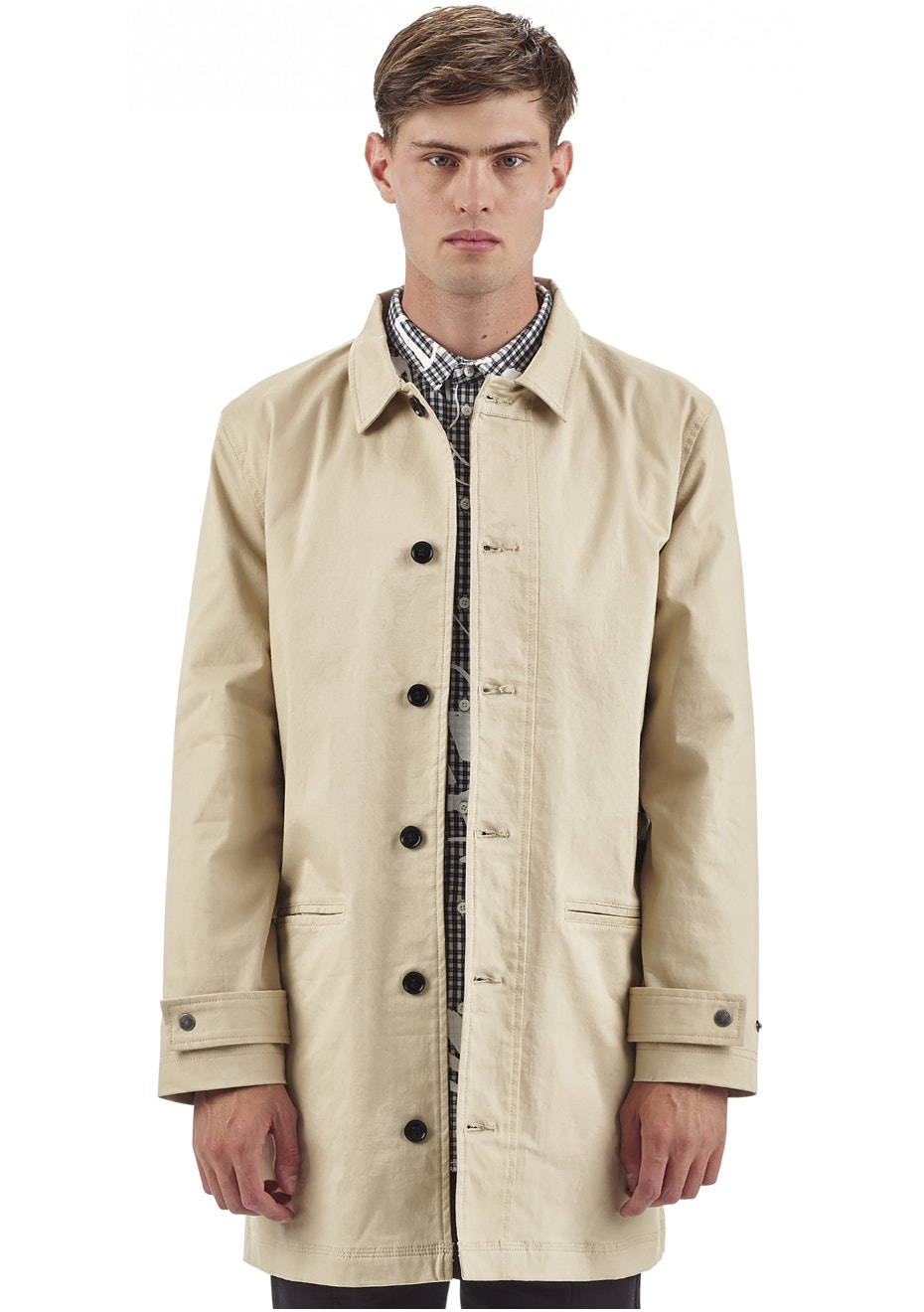 I Love Ugly - Albert Mac Jacket - Tan