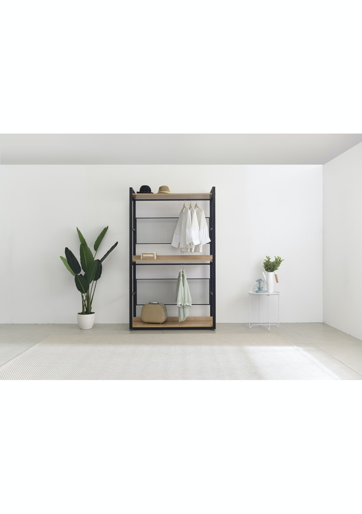 1200mm 3 shelf storage unit acacia affordable contemporary furniture onceit