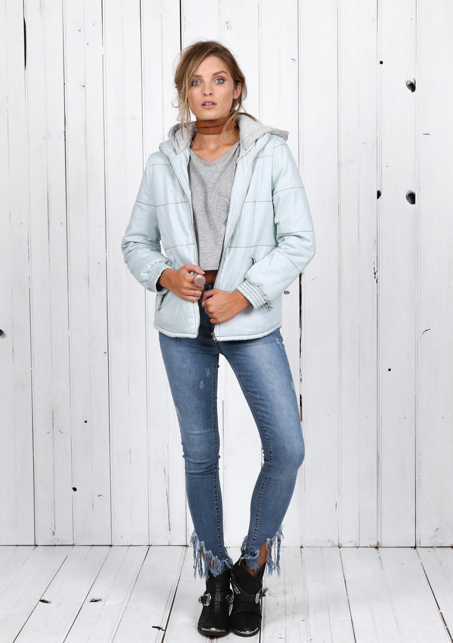 Madison - TOTEM JACKET - CHAMBRAY