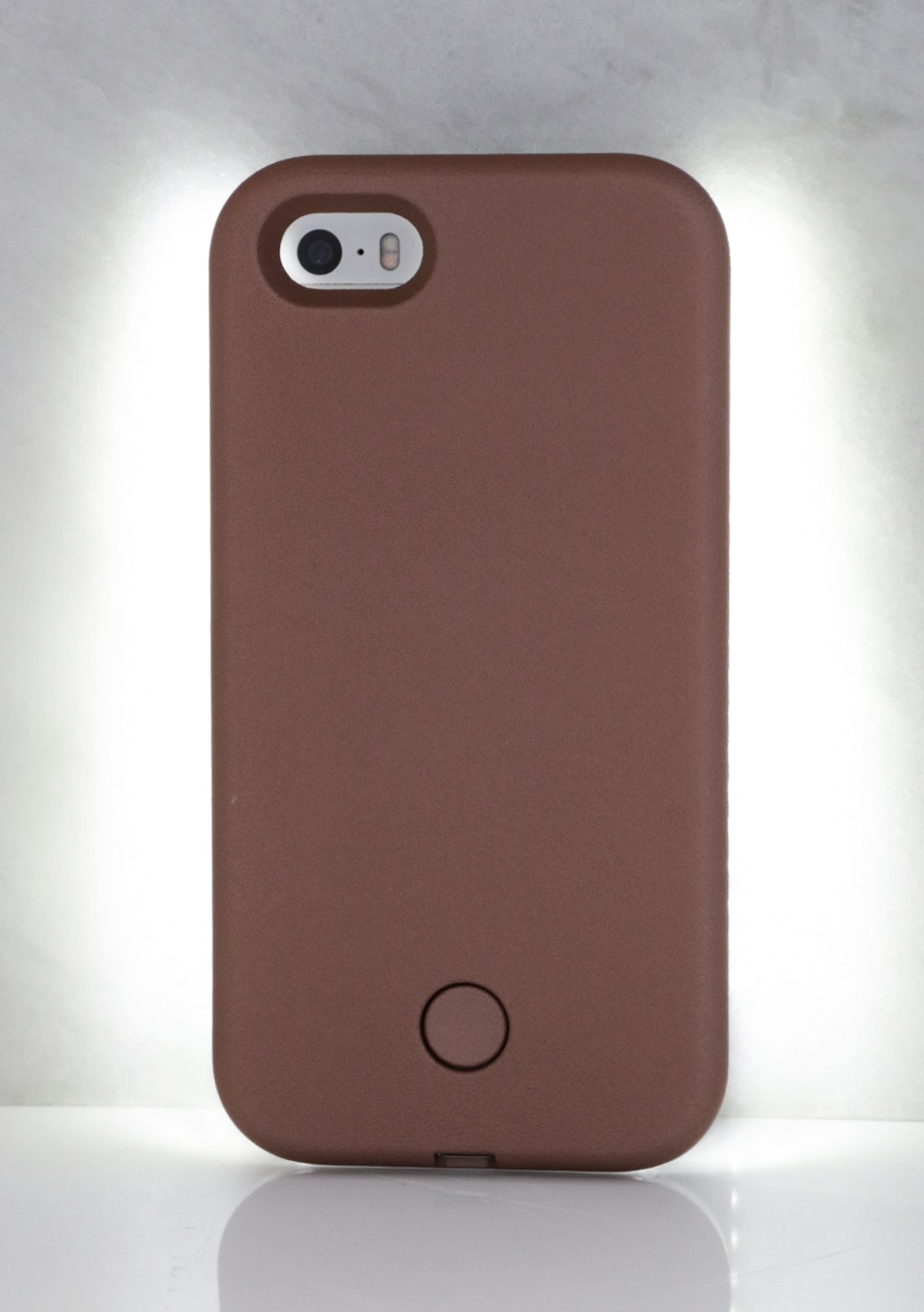 IPHONE 5/5S LIGHT CASE - Metallic Nude
