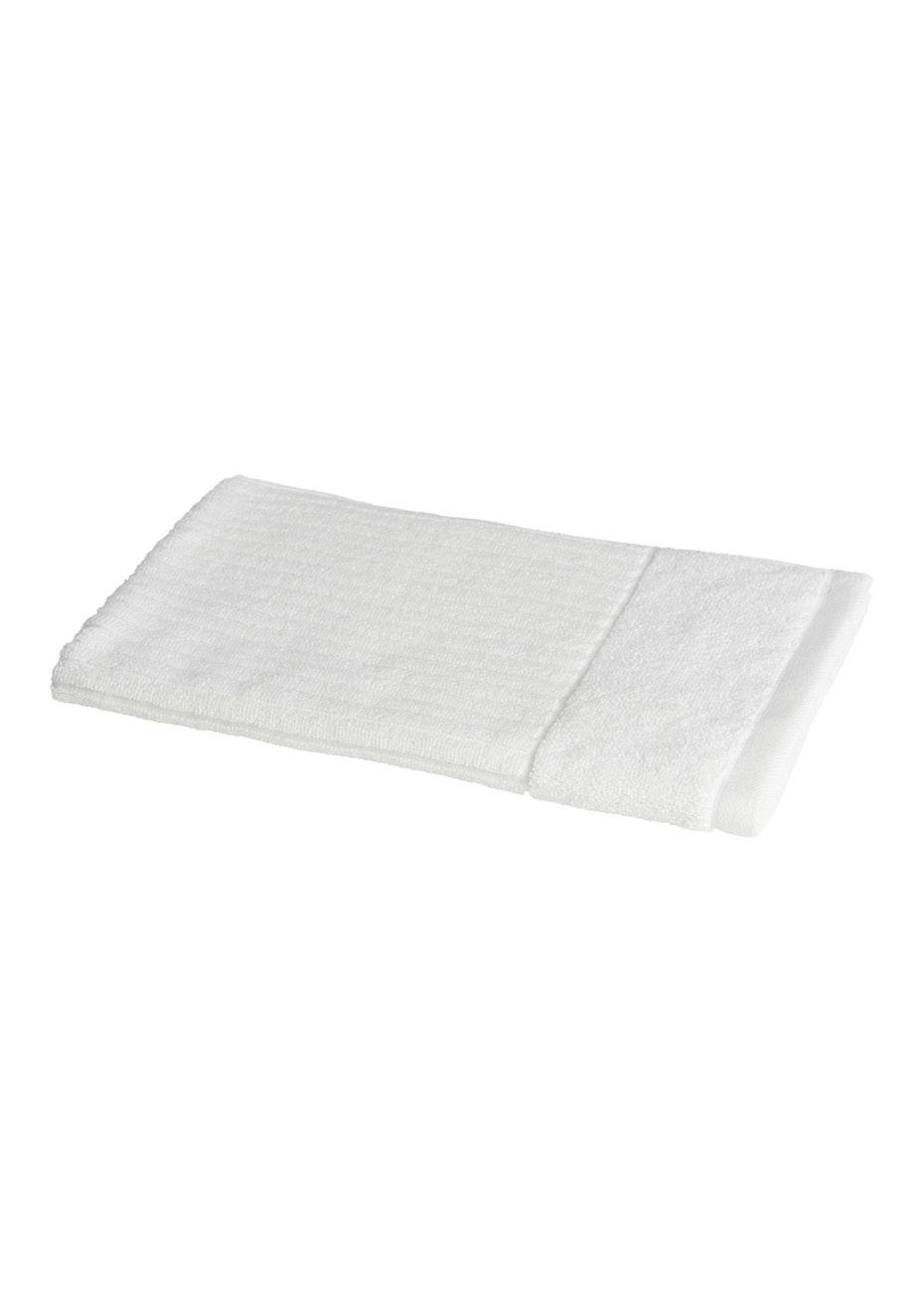 Conran Signature Rib Hand Towel White