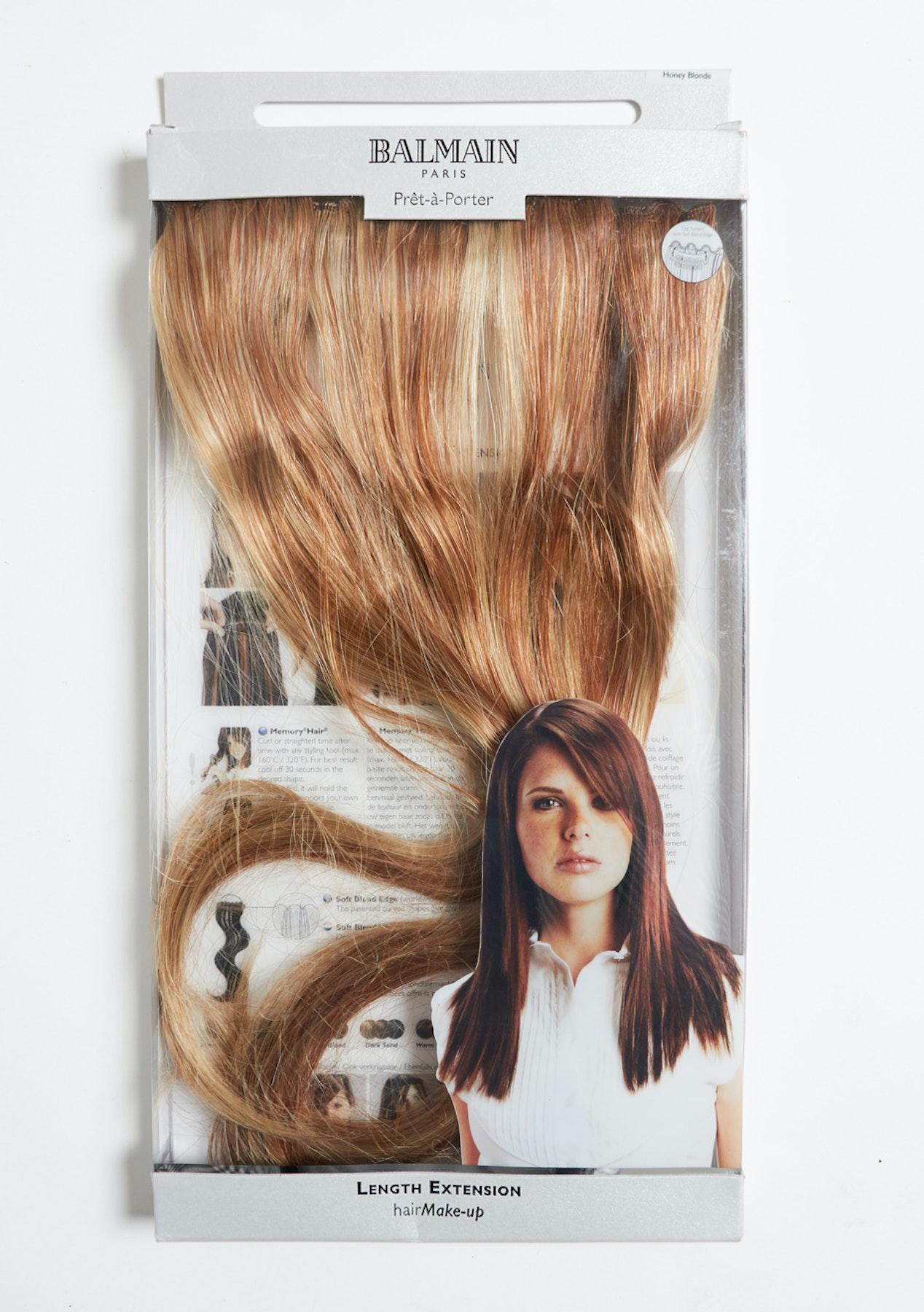 Balmain Hair Extension 3pc Honey Blonde 40cm Under 10 Mondayitis
