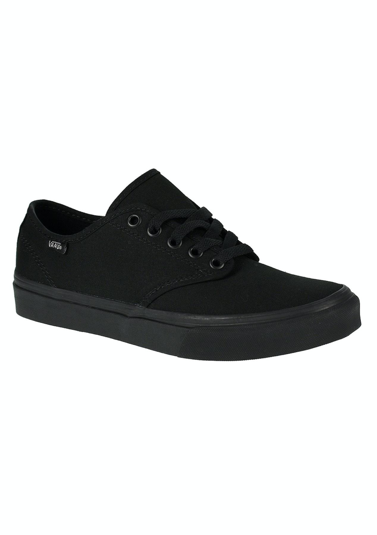 de8bdb50bbfb31 Vans - Womens Camden Stripe - Canvas - Black Black - Free Shipping Street  Shoes + Slides - Onceit