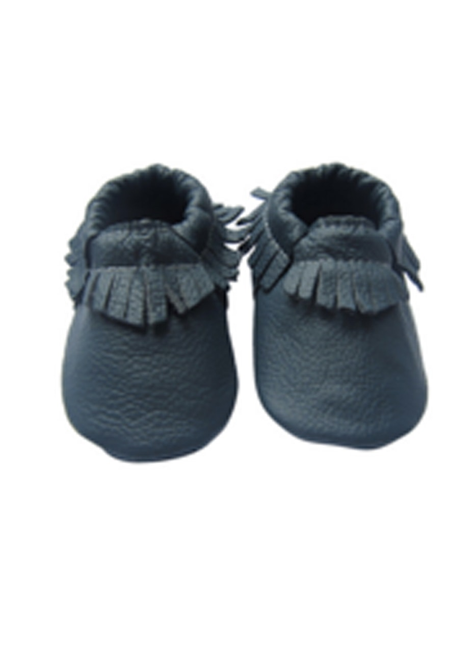 Baby  Leather Shoes - Navy