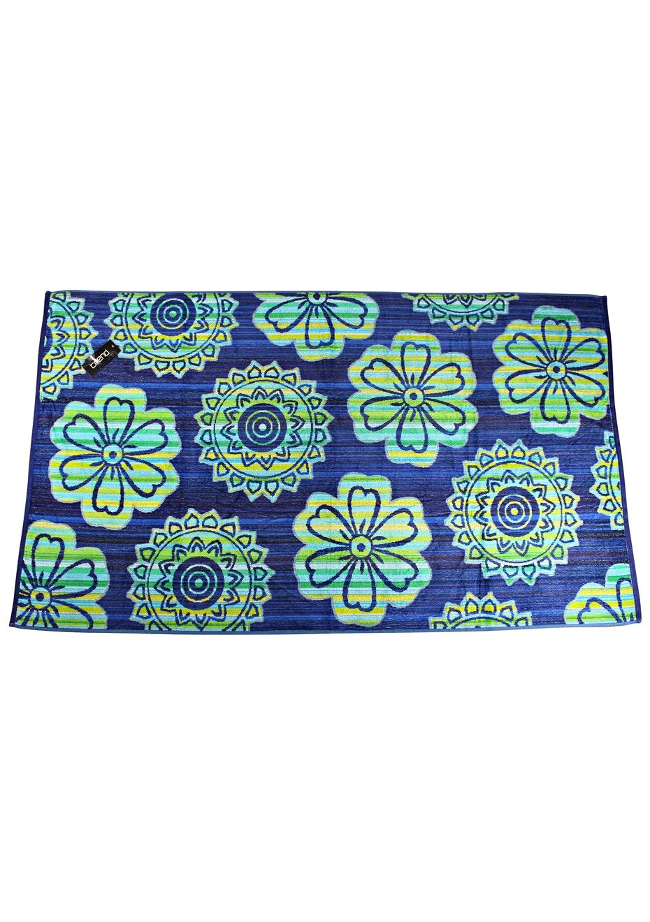 Perasi 100% Cotton Velour Jacquard Beach Towel - 100x180cm