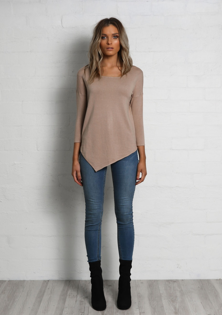 Madison - BUILDING BLOCKS KNIT - NUDE