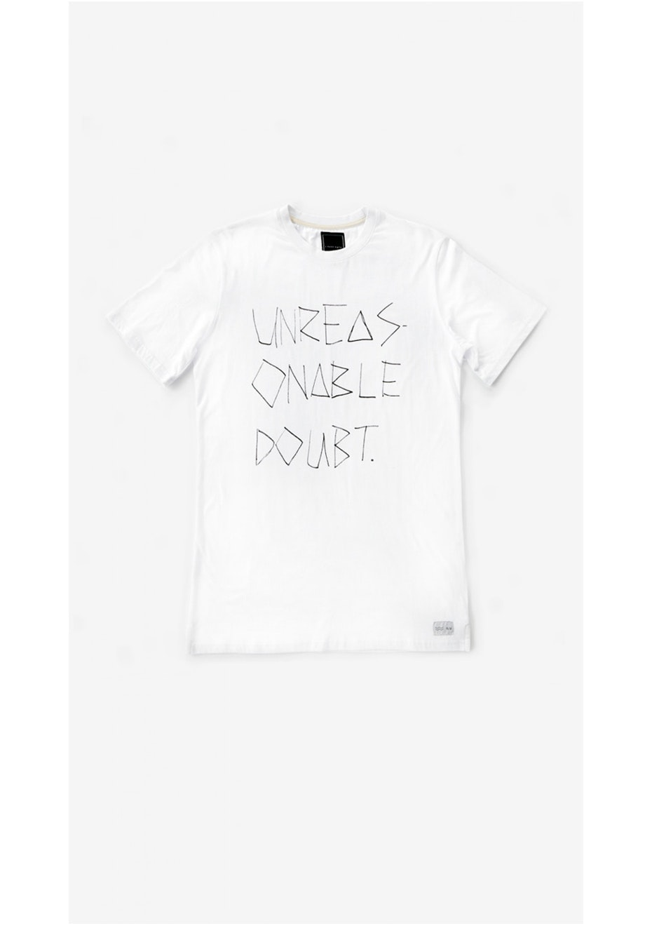 I Love Ugly - Unreasonable Doubt Tee White