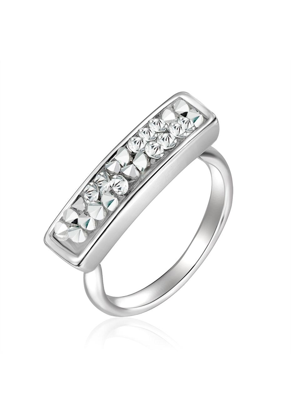 Prestige Ring Ft Swarovski Crystals