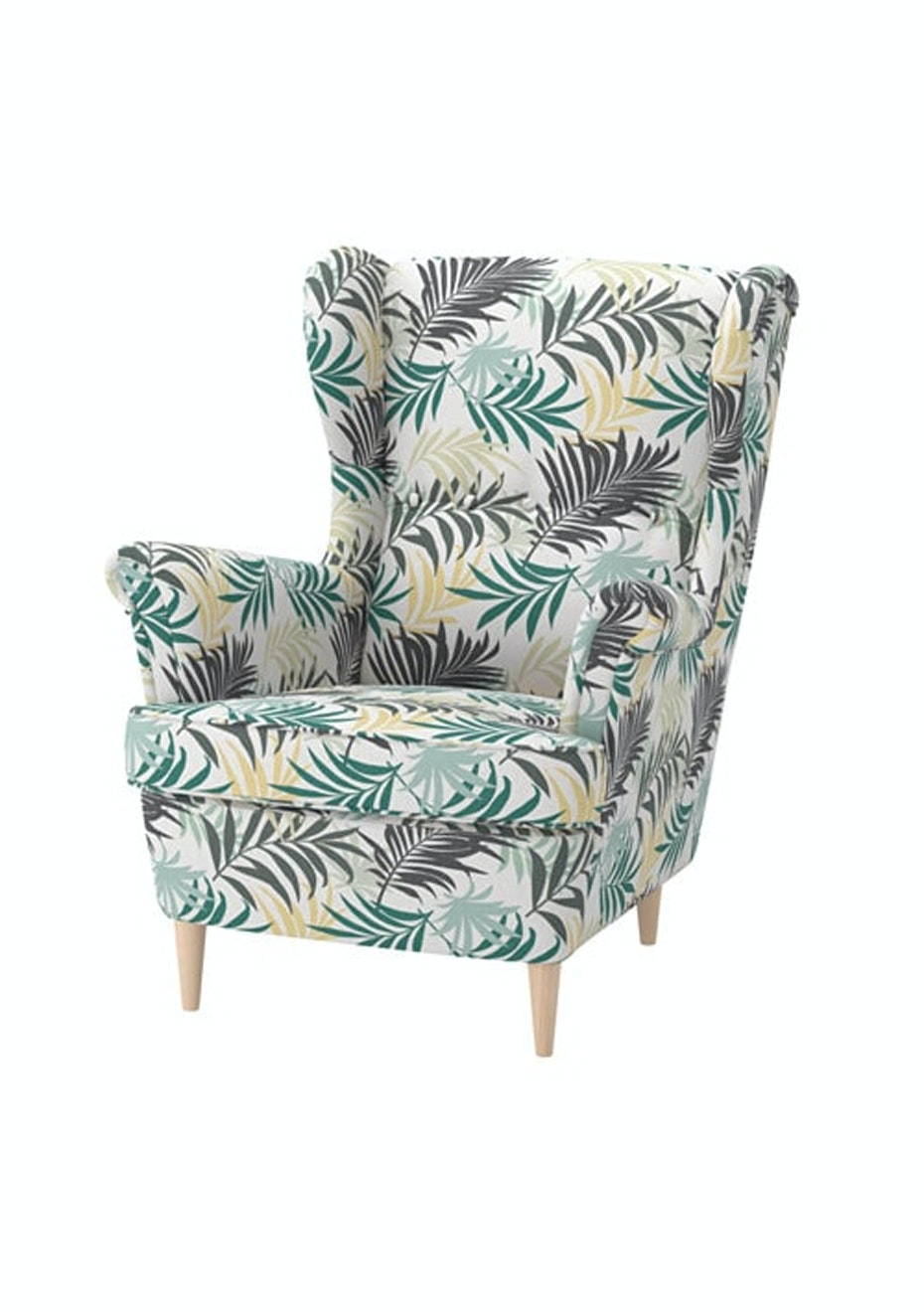 Picture of: Ikea Strandmon Wing Chair Gillhov Multicolour By Ikea Affordable Ikea Home Makeover Onceit
