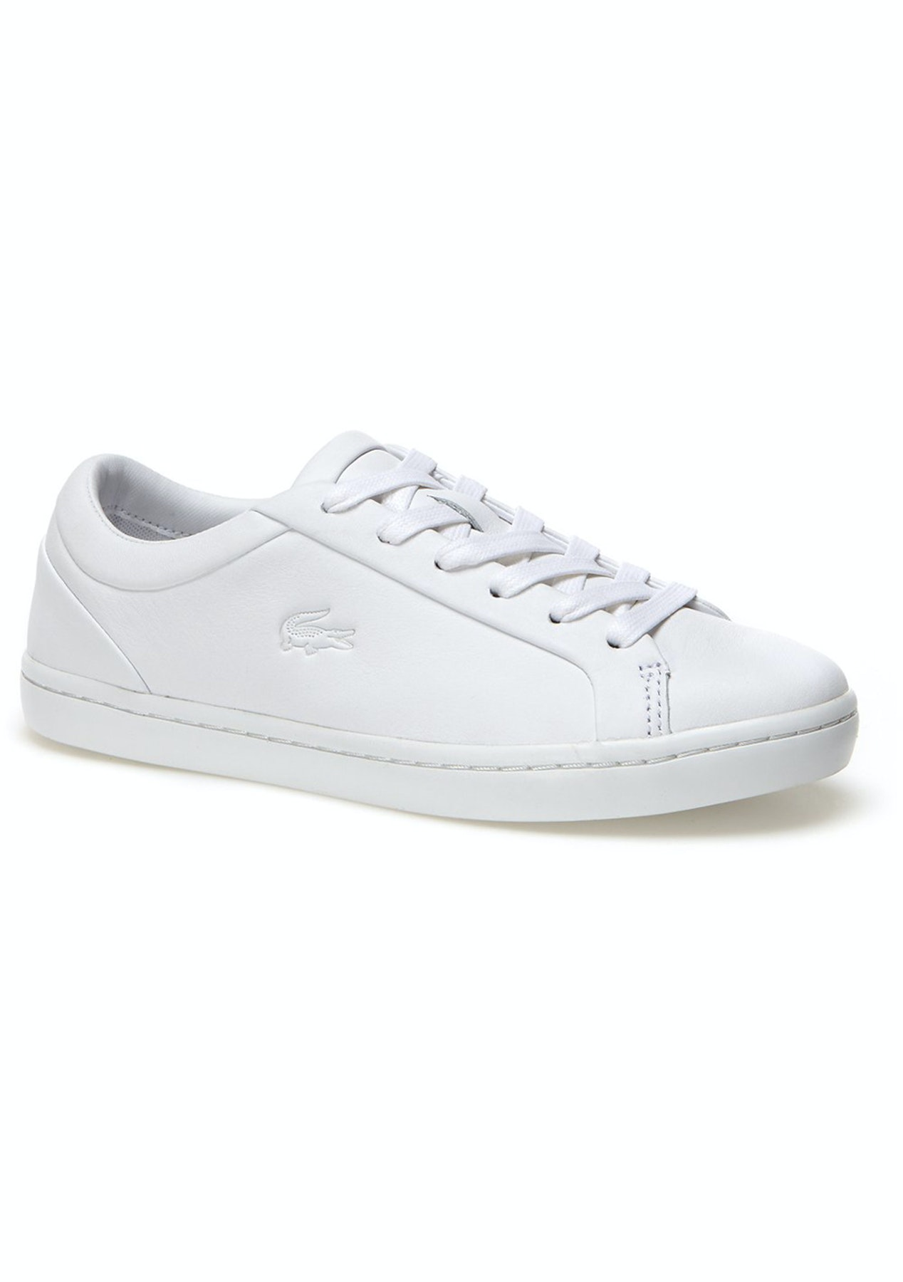 15a0ee57832a Womens Lacoste - Straightset 316 1 - White - Big Shoe Outlet - Onceit