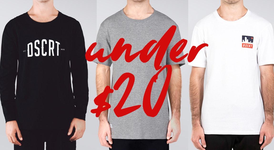 Under $20 DSCRT Streetwear