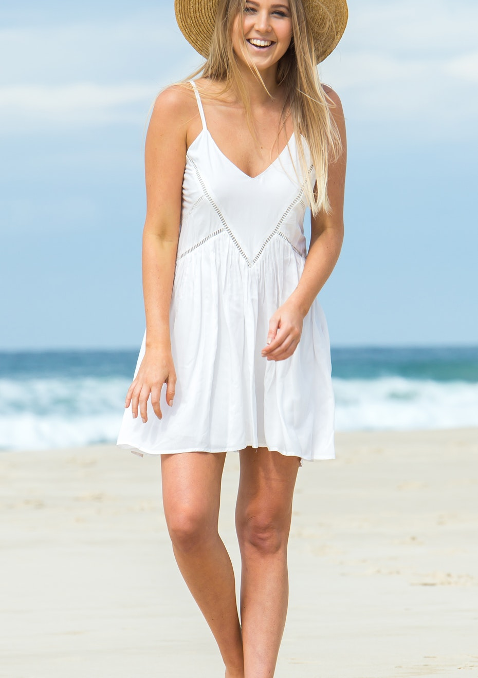 Gypsy Republic - Sweetheart Dress - White