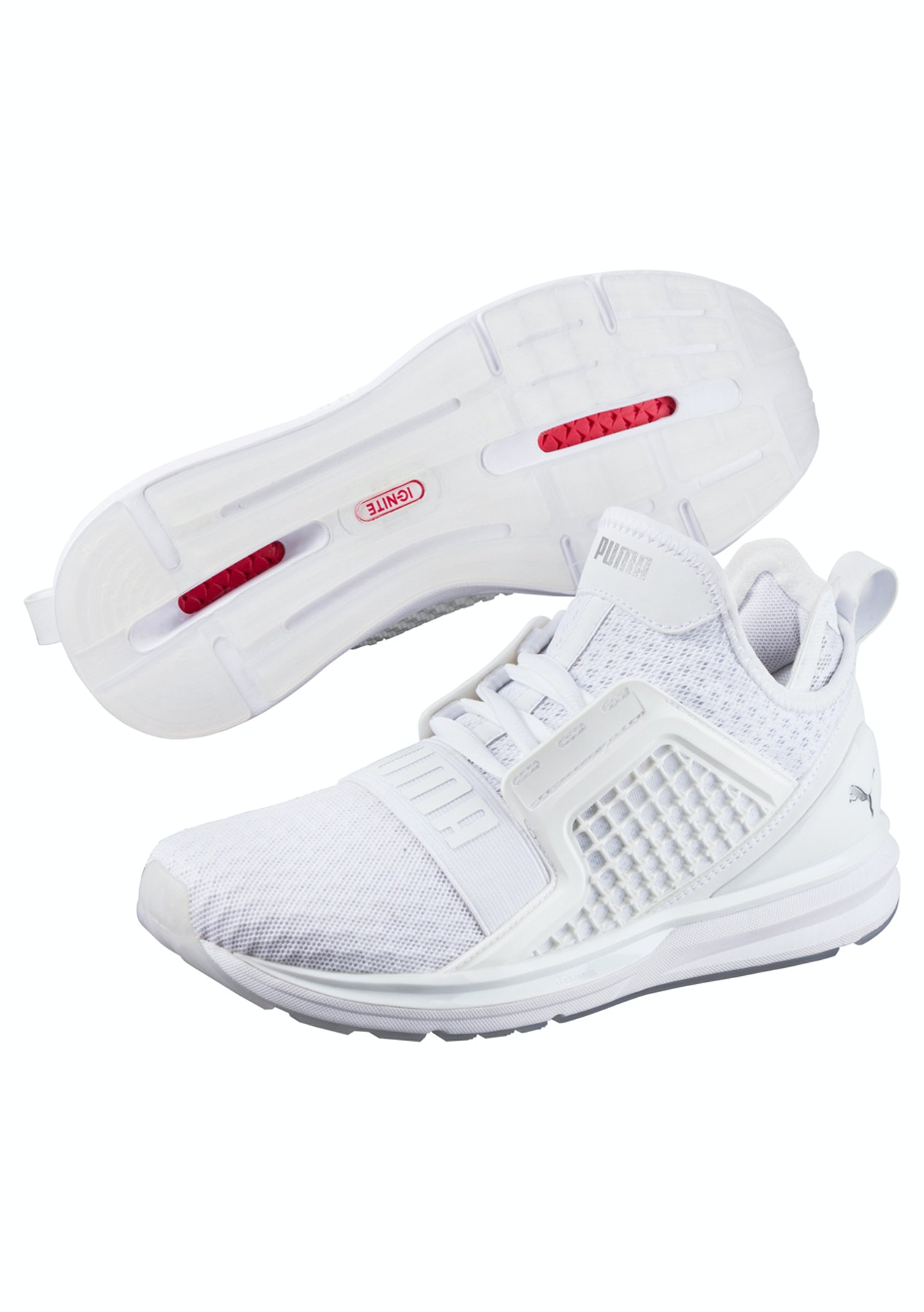 Puma Womens - Ignite Limitless White - Puma Womens   Kids up to 63% Off -  Onceit fdb3839e7